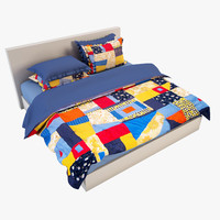 3d model bedcloth 11