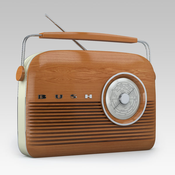 3ds max bush retro radio - Bush Retro Radio... by Shared 3D