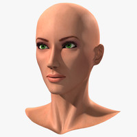 head european woman 3d lwo