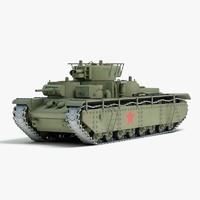 3d ww2 soviet heavy tank