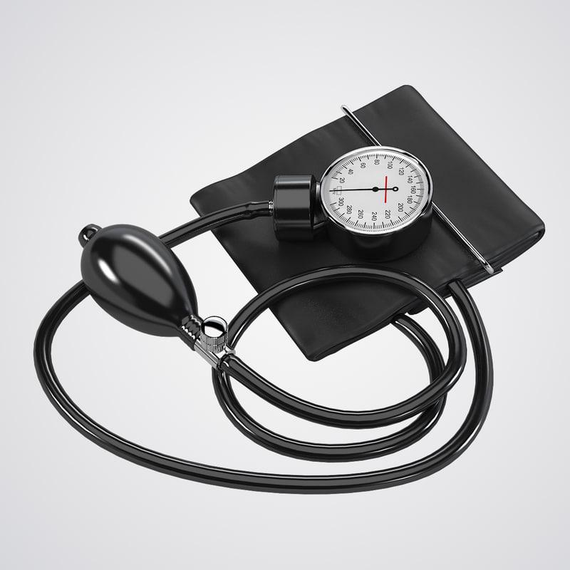 b Blood Pressure monitor tonometer medical apparatus clinic device therapeutist  measuring 0001.jpg