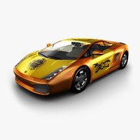 3d model car sports