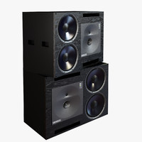 3d model genelec speaker 2