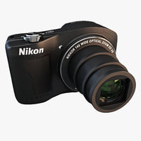 nikon coolpix l610 camera 3d lwo