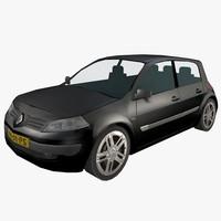 3d model car megane ii