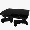 Sony PlayStation 3 3D models