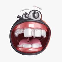 smile 3d model