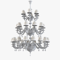 razzetti lc 125 chandelier lighting 3d model