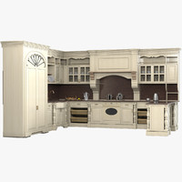 kitchen provencial 3d model