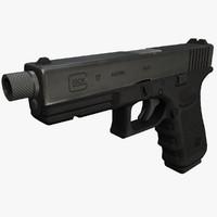 obj ready glock 17 pistol