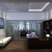 3d opens interior model