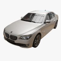 bmw 7 series 2013 3d model