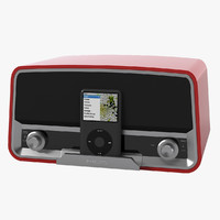 3d model philips 245 radio