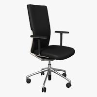 3d vitra axess office swivel chair model