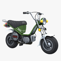 3d model of yamaha chappy 2010