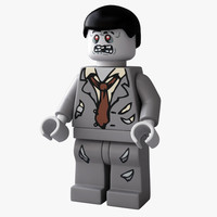 rigged lego zombie max