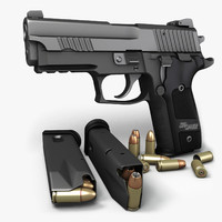 Sig Sauer P229 Dark Elite 9mm
