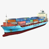 Container Ship MAERSK ARUN