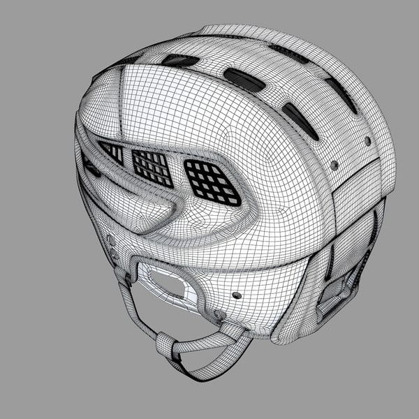 3d model of cascade m11 hockey - Cascade M11 Hockey Helmet... by shop3ds