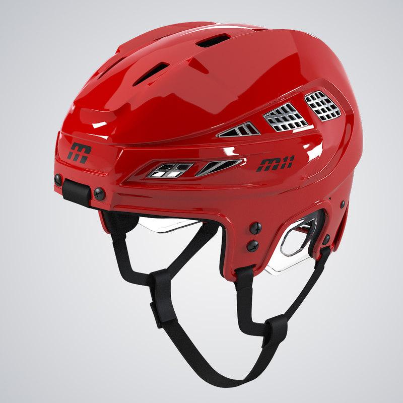 b Hockey helmet sport ice professional hat 0001.jpg
