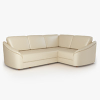 corner sofa donata furniture 3d model