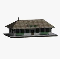 3d train station