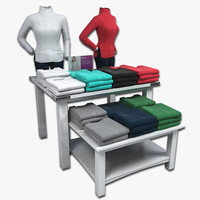 Womens Sweater Display Tables