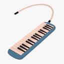 melodica 3D models