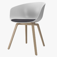 3d model chair hay