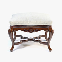 John-Richard Imperia Carved ottoman