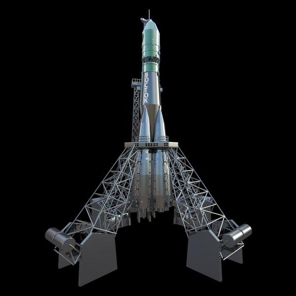 vostok rocket model - photo #31