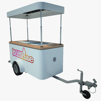 Ice Cream Cart 01