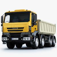 3d model iveco trakker truck