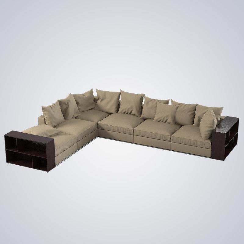 b Flexform Groundpiece modern contemporary sectional sofa0001.jpg
