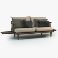 fly lounge sofa tables 3d model