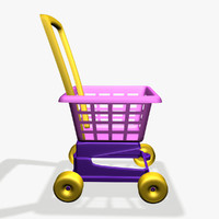 3ds max toy shop cart
