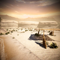 3ds max desert environment