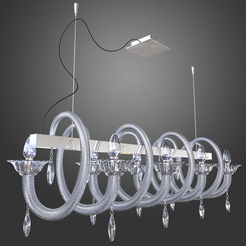 chandelier demajo 8080 3d max