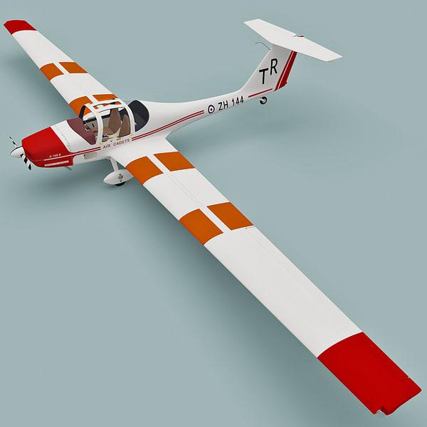 3d Model Motor Glider Grob G