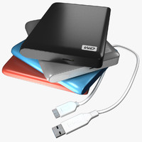 Western Digital Hard Drive_My Passport Essential SE