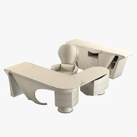 mascheroni prior office furniture 3d obj