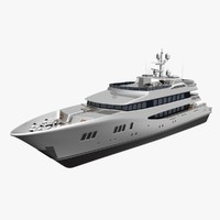 3d carpe diem luxury yacht