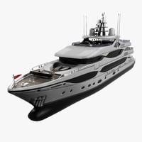 3dsmax yacht christensen cruising 43m