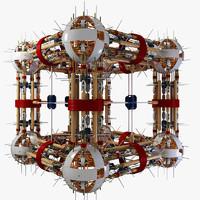 sci fi structure max