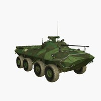 3d btr-90 armoured personnel model