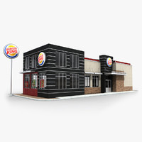 Burger King Restaurant 01