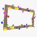stringed lights 3D models