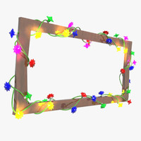 stringed lights 3D models