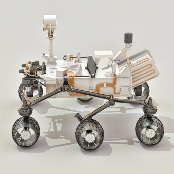 curiosity rover replica - photo #30