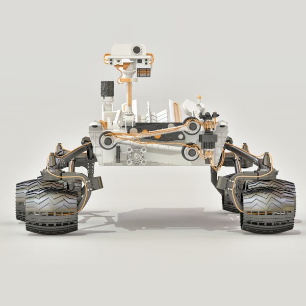 curiosity rover scale model - photo #19
